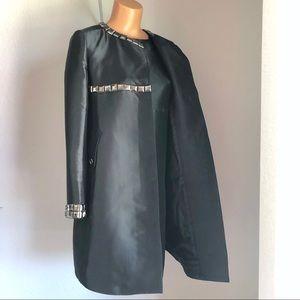 Burberry Dresses - Blueberry 2-Piece Studded Dress & Jacket Set Black